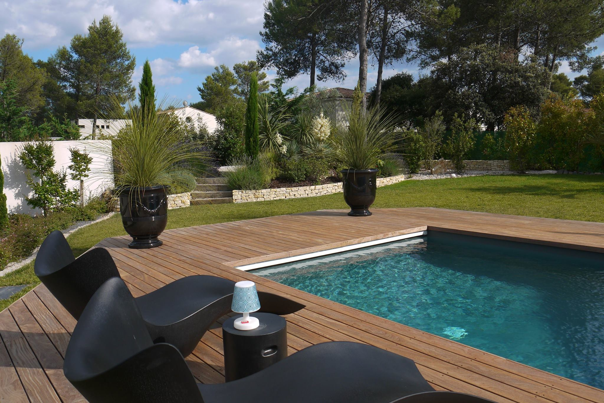 Paysagiste montpellier amenagement jardin decoration jardin for Amenagement jardin design