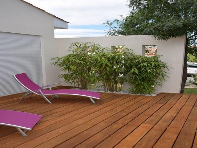 Deco jardin privatif st cl ment de riviere paysagiste jardin for Deco jardin 2016
