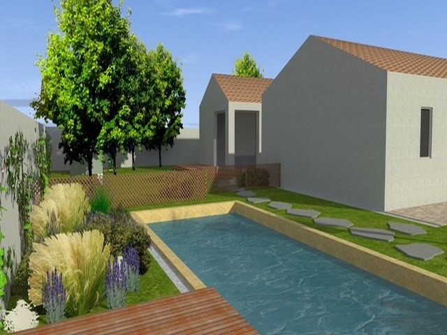 Paysagiste montpellier pour helenis residence de standing for Jardin de particuliers a visiter