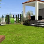Vue5 amenagement jardin