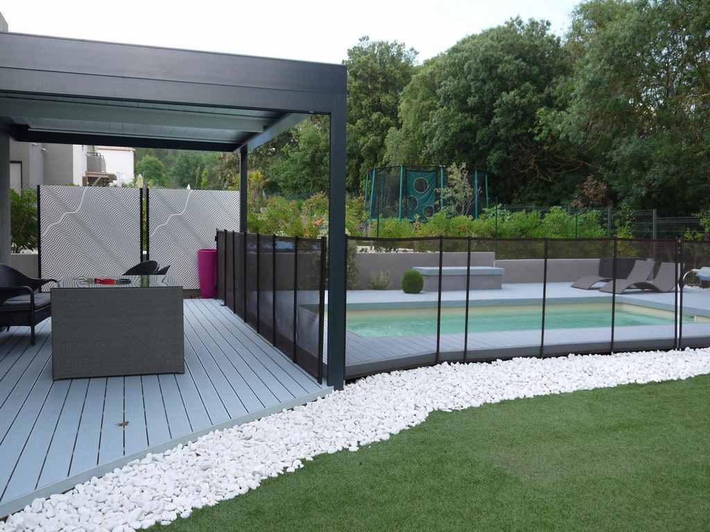 Amenagement jardin par paysagiste orphis montpellier deco for Amenagement terrasse jardin
