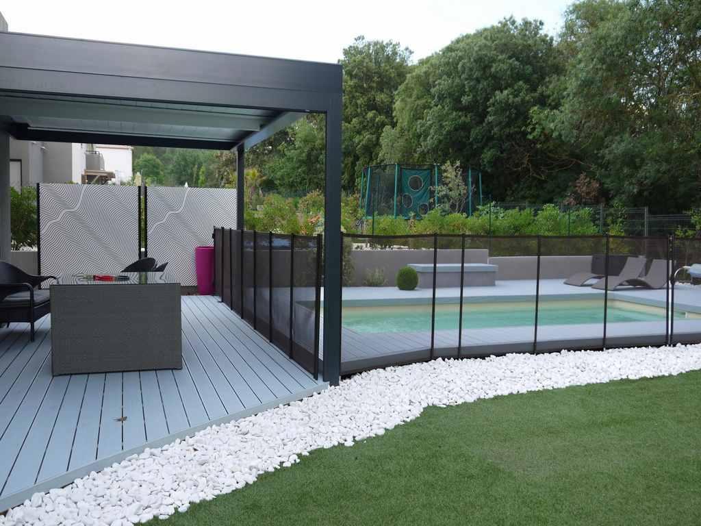 Amenagement jardin par paysagiste orphis montpellier deco jardin - Terrasse jardin simple nimes ...