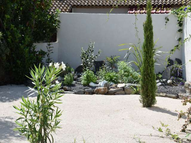 Amenagement Exterieur Red Garden Montpellier Herault Gard