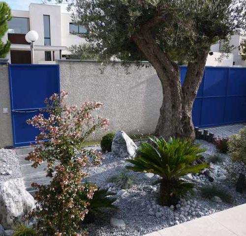 Decoration jardin Couleur local