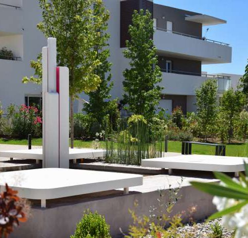 Metropolitain amenagement jardin