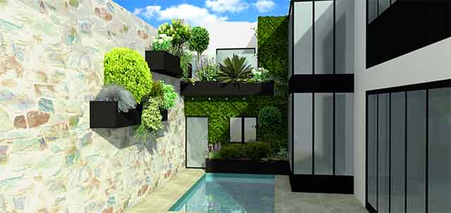 Amenagement jardin 3 D