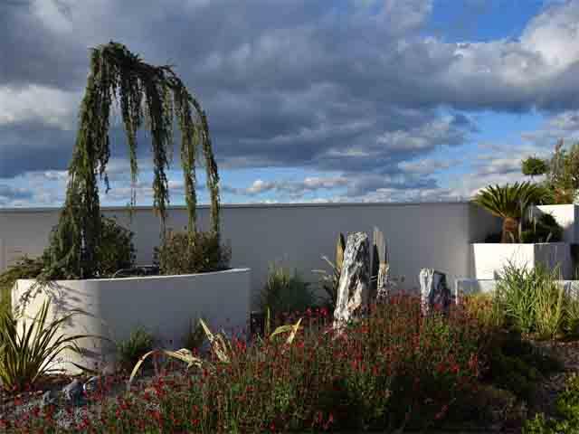 Aménagement jardin de résidence Sakura Garden