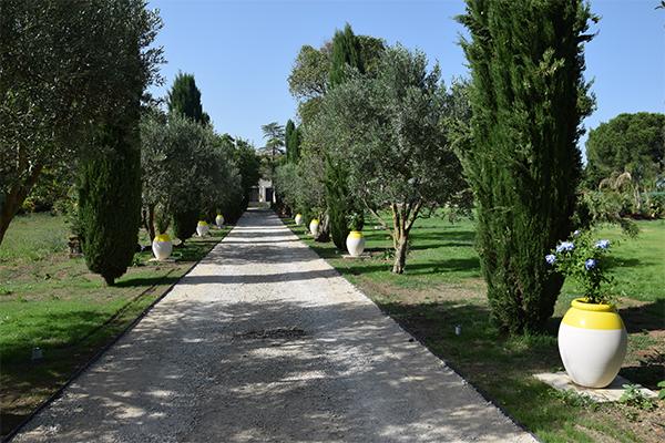 Aménagement d'un parc privé à Montpellier