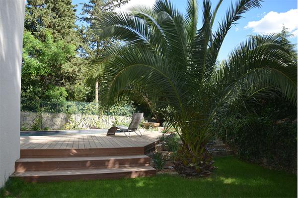 Jardin méditerranéen raffiné à Castelnau le Lez