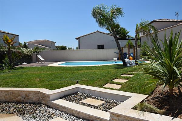 Aménagement d\'un jardin contemporain à Valergues