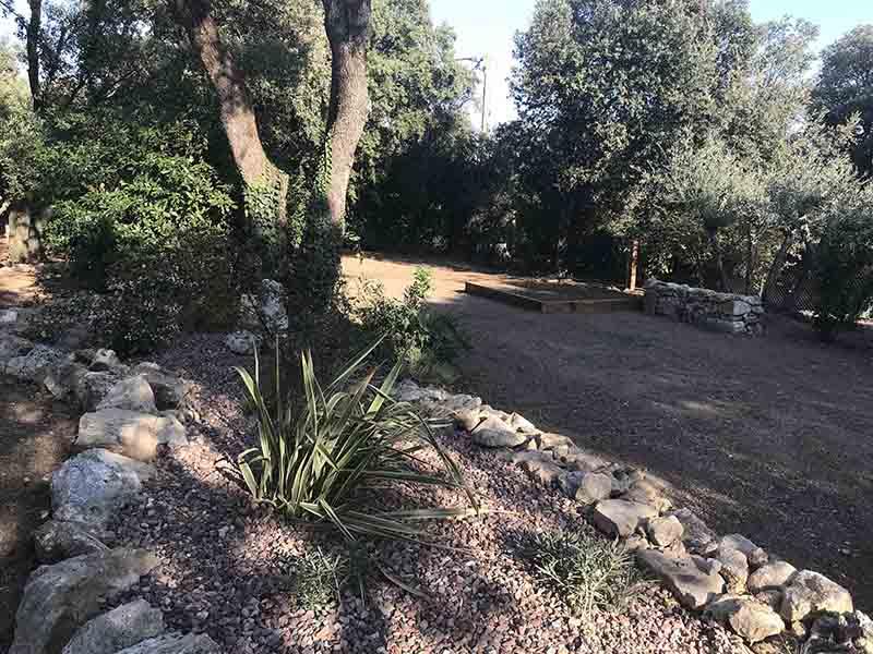Jardin écologique à Montpellier
